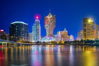 La ville de Macao aujourd'hui une des capitales du jeu