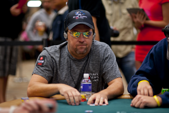 Le joueur de poker Chris Moneymaker