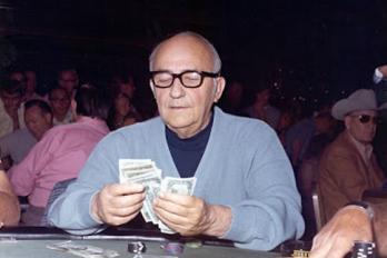Johnny Moss, une autre légende du poker